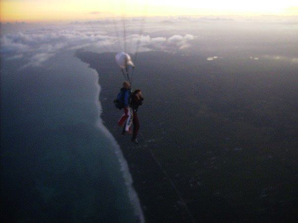 Mombasa Kenya skydiving